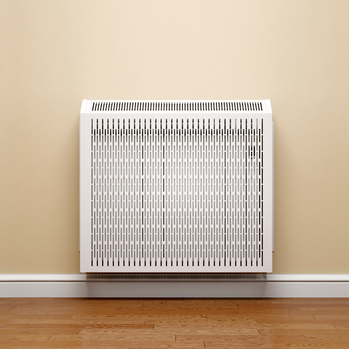 Rointe radiator covers come in white or black
