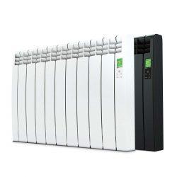 D Series wifi aluminium oil filled smart radiator in white or black