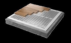 Rointe erko underfloor heating cross section diagram