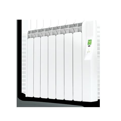 Rointe Kyros 7 element smart timer aluminium oil filled radiator in white