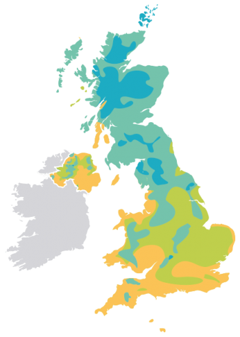 UK-map-climate-zone-calculate-heating
